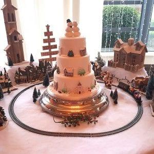 Wedding Christmas Theme Cake Review
